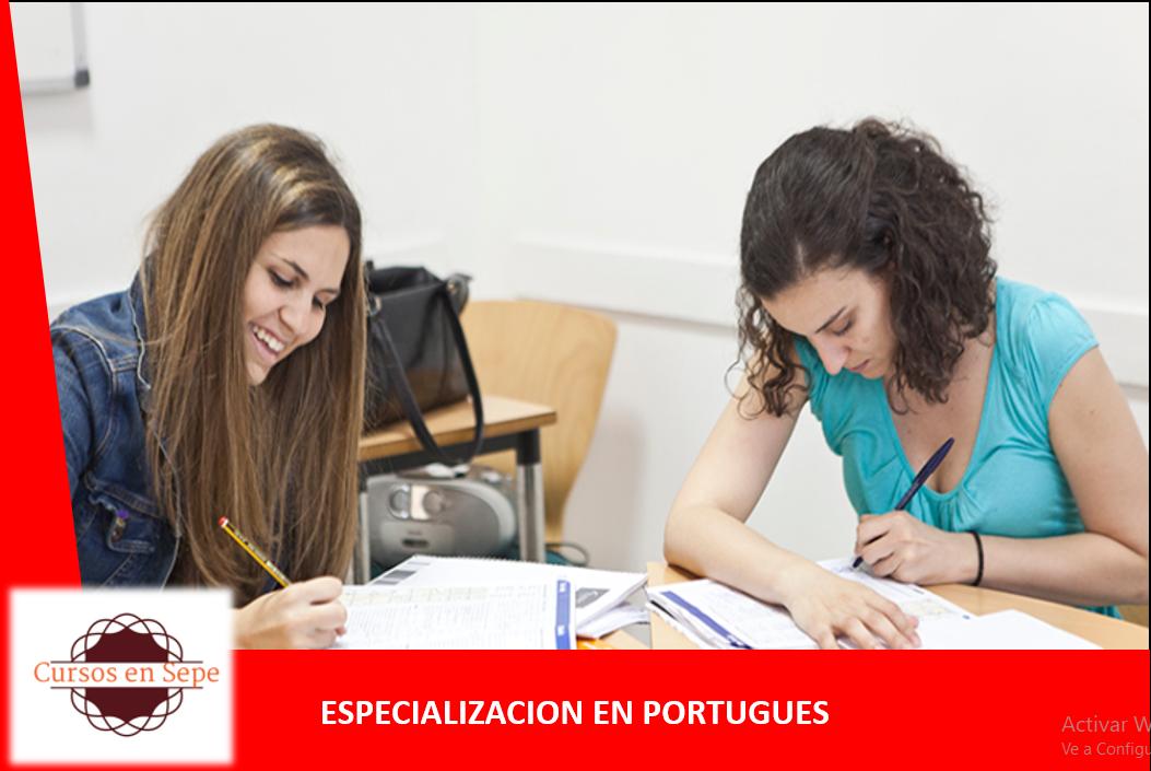 ESPECIALIZACION EN PORTUGUES