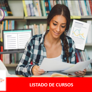 LISTADO DE CURSOS