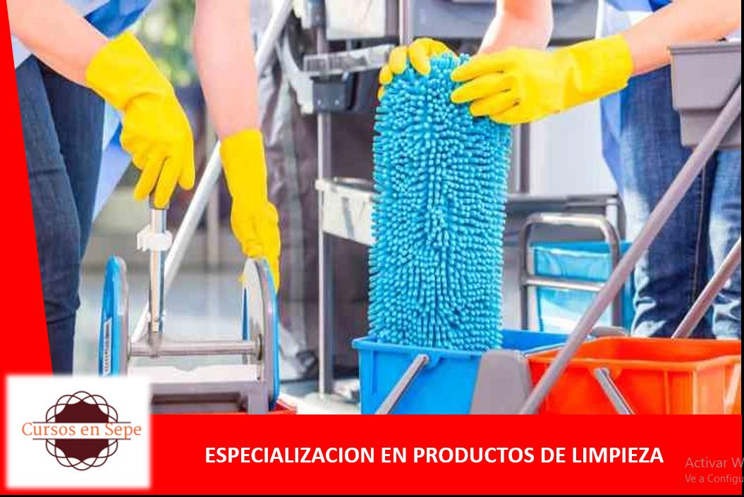 TECNICAS EN PRODUCTOS DE LIMPIEZA